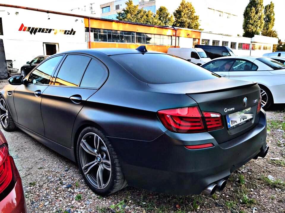 Chip Tuning BMW M5 GPOWER – Modyfikacje samochodu
