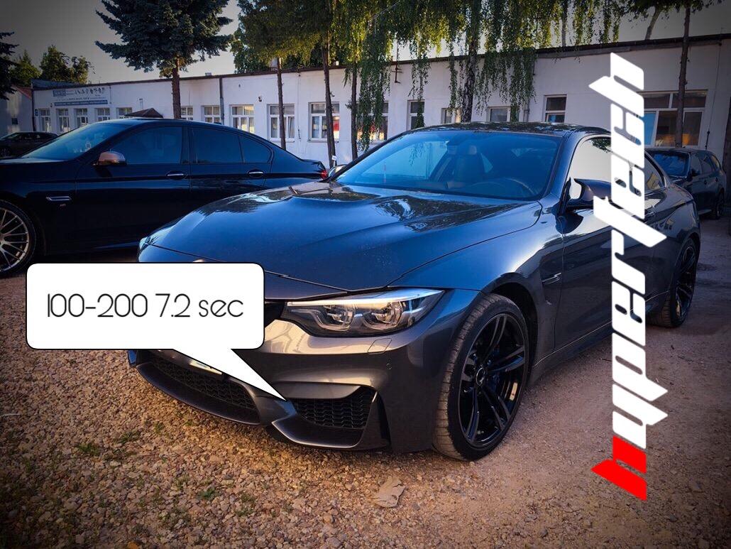 Chip Tuning BMW M4 – Modyfikacje samochodu