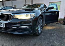 Doposażenie BMW 520d G30 w opcję S3AC Full Automatic Trailer Tow Hitch