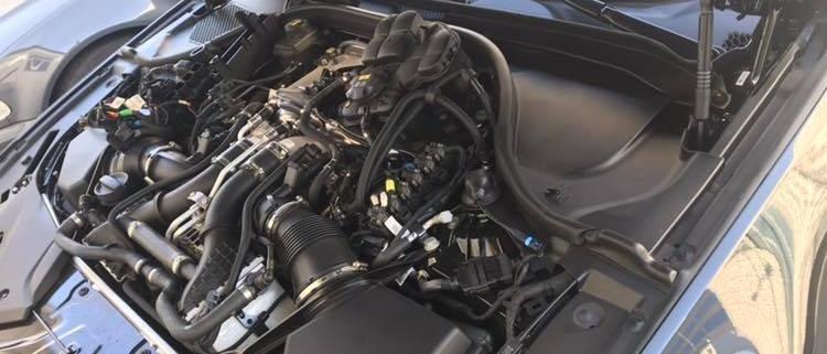 Cewki i świece w BMW M5 F90 po 6000 km