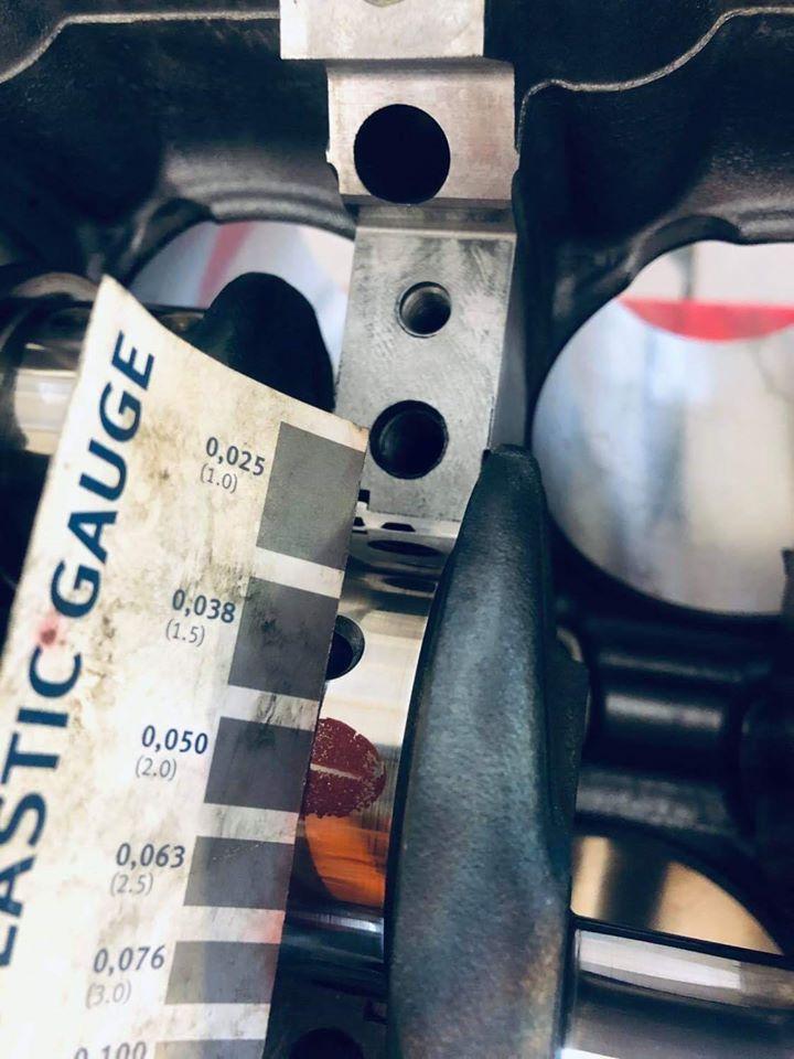 Usterka panewki cylindra 1 w BMW F10 M5