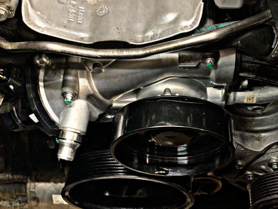 Usterka pompy cieczy chłodzącej oraz paska wielorowkowego w BMW 5 G30 M550ix_02