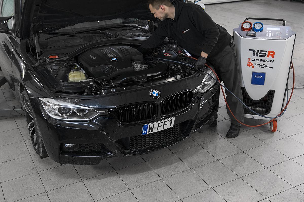 Serwis klimatyzacji BMW