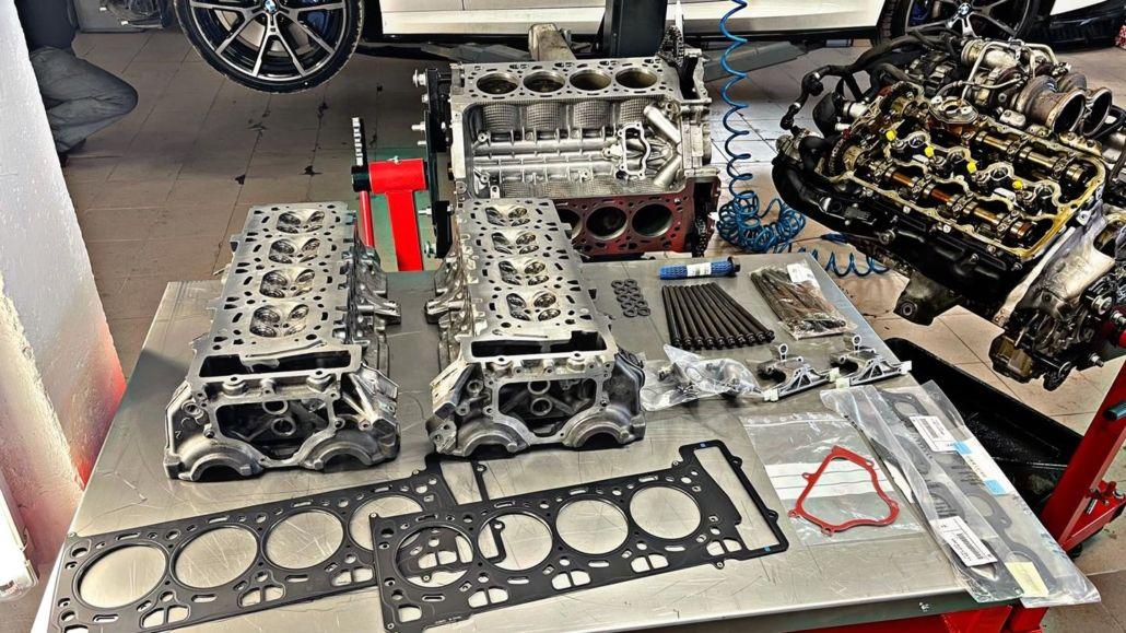 Naprawa silników BMW - doświadczenie