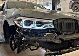 Retrofit adaptacyjnych reflektorów LED z asystentem świateł drogowych w BMW G30 540ix_03